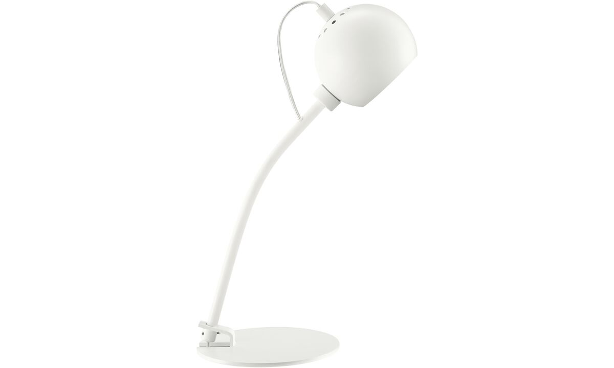 Lamps - Ball table lamp - White - Metal