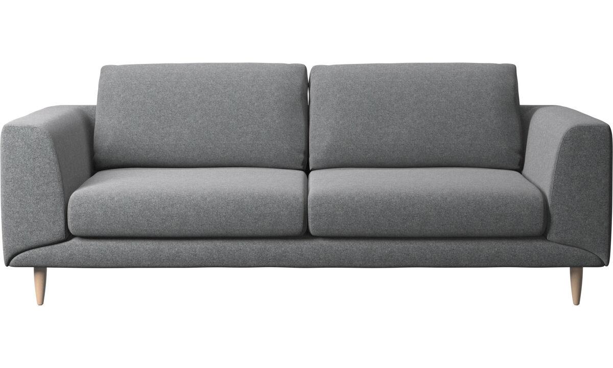 2½ personers sofaer - Fargo sofa - Grå - Stof