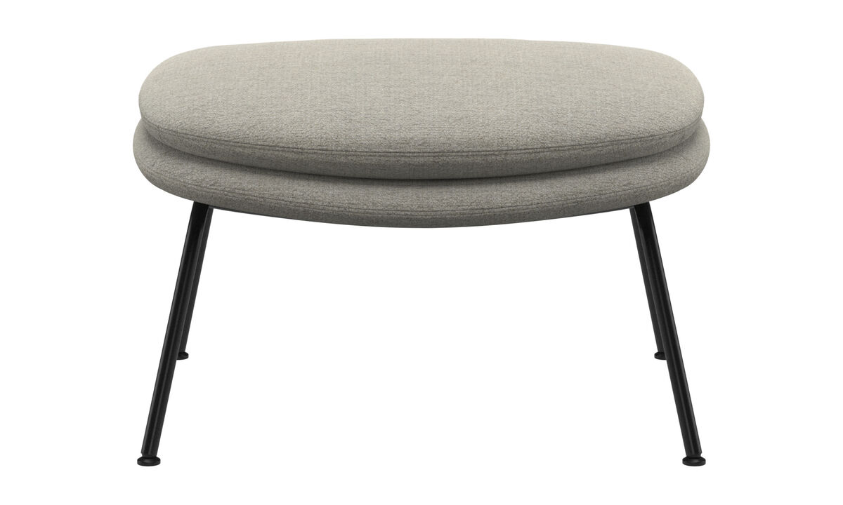 Footstools - Dublin footstool - Beige - Fabric