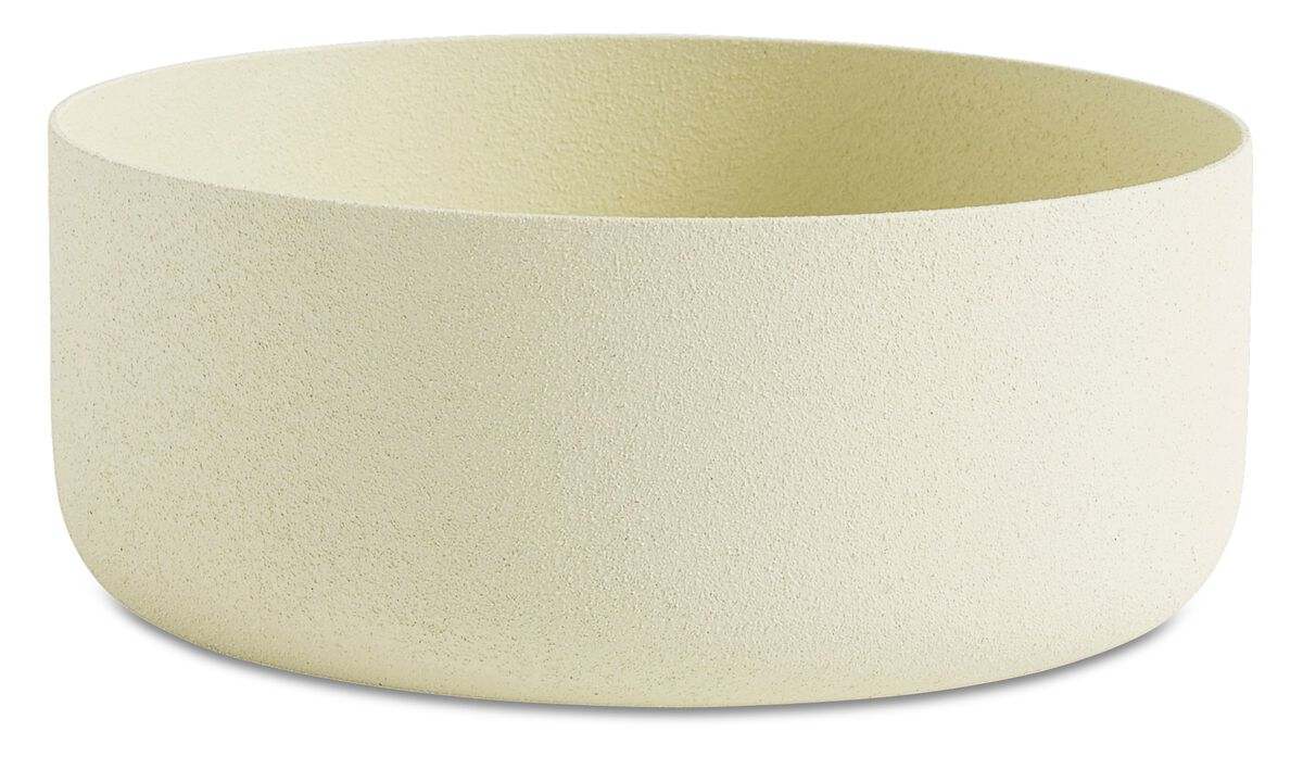New designs - North bowl - Beige - Metallo