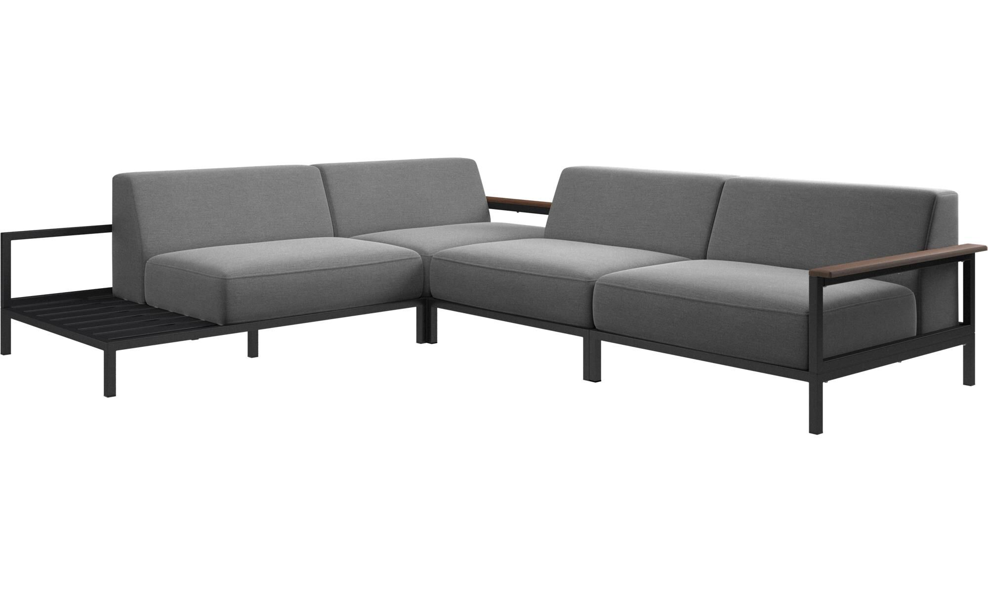 Charmant Outdoor Sofas   Rome Outdoor Sofa   Gray   Fabric