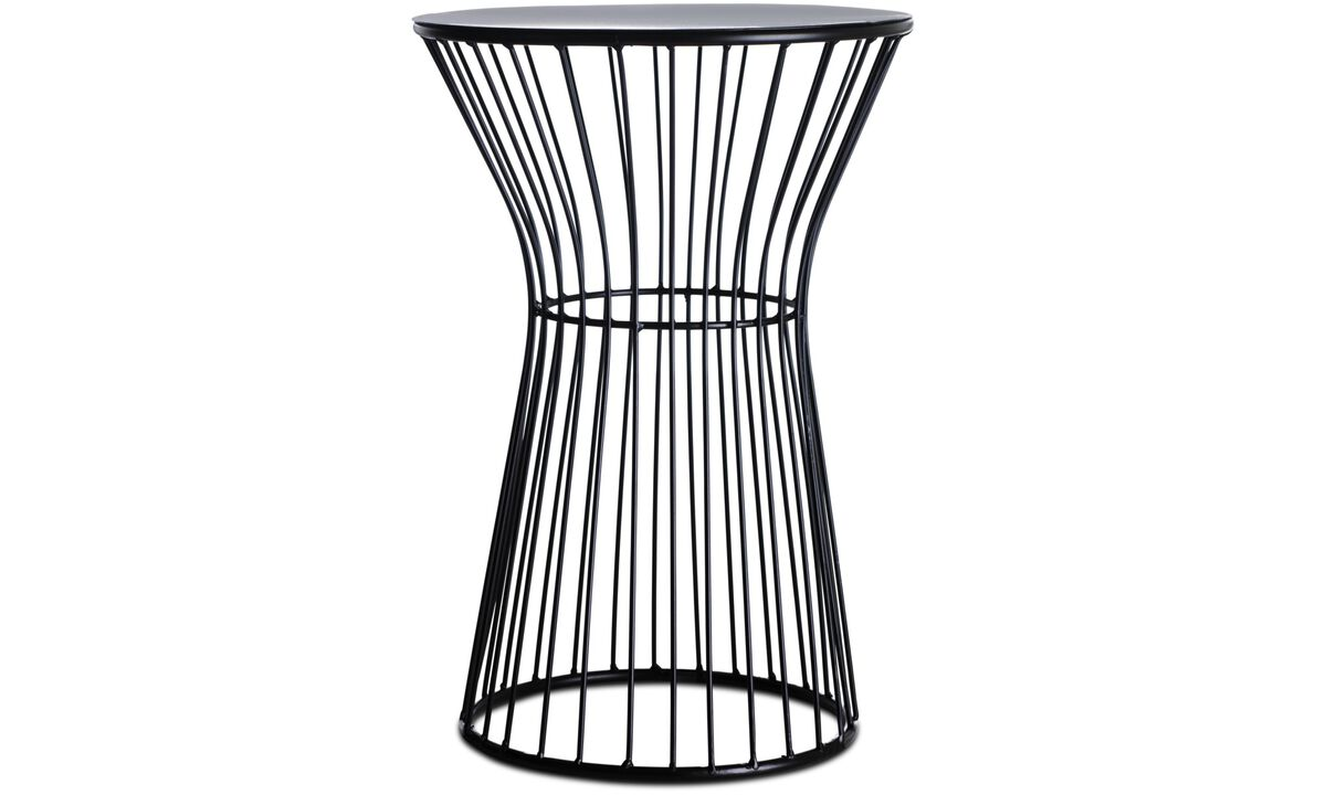Stools - Wire stool - Black - Metal
