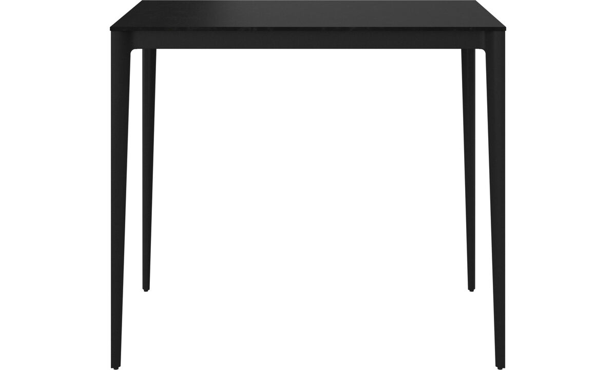 Bar tables - Torino bar table/high table - rectangular - Black - Laminate