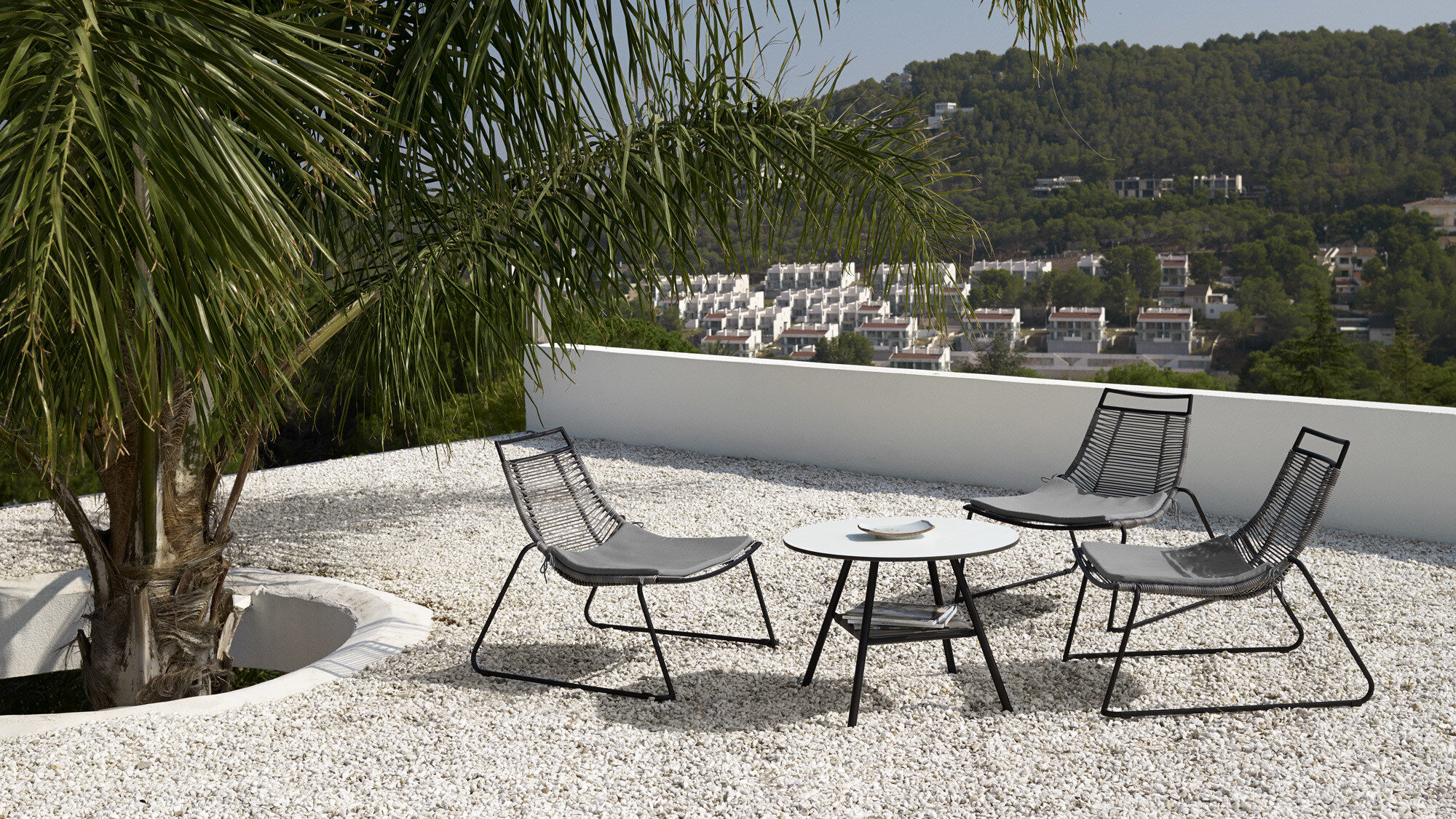 Outdoor lounge furniture - Elba table (for in and outdoor use)