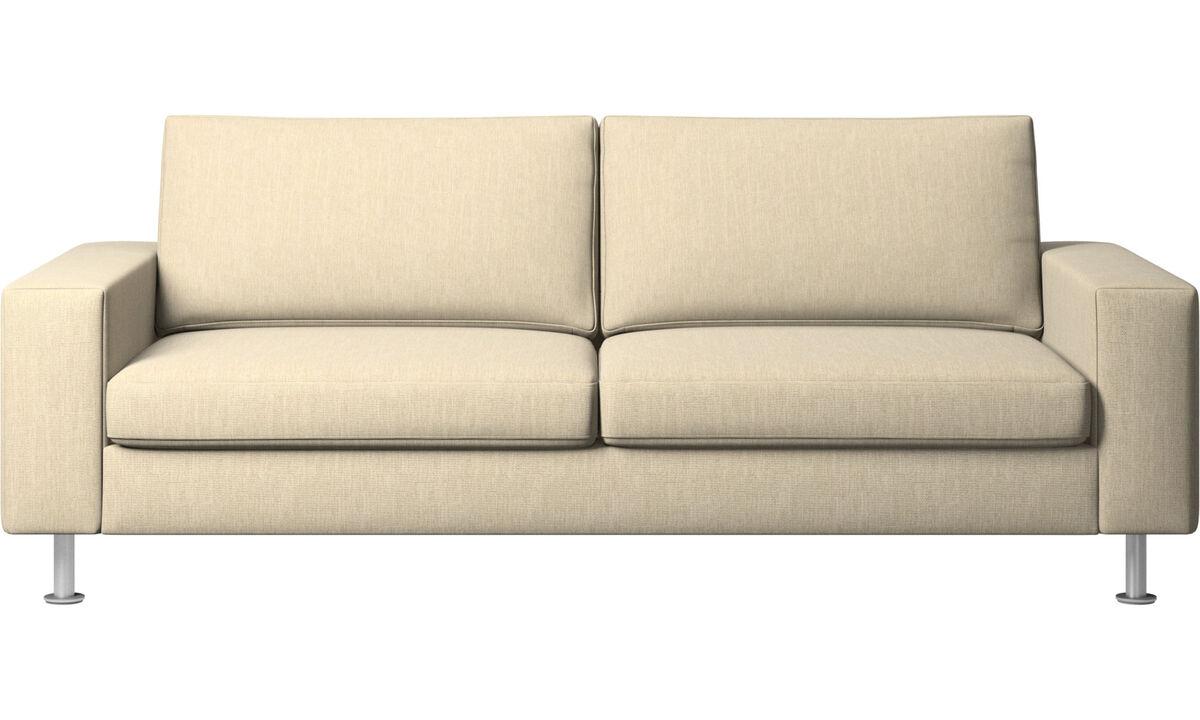 Sofa beds - Indivi sofa bed - Brown - Fabric