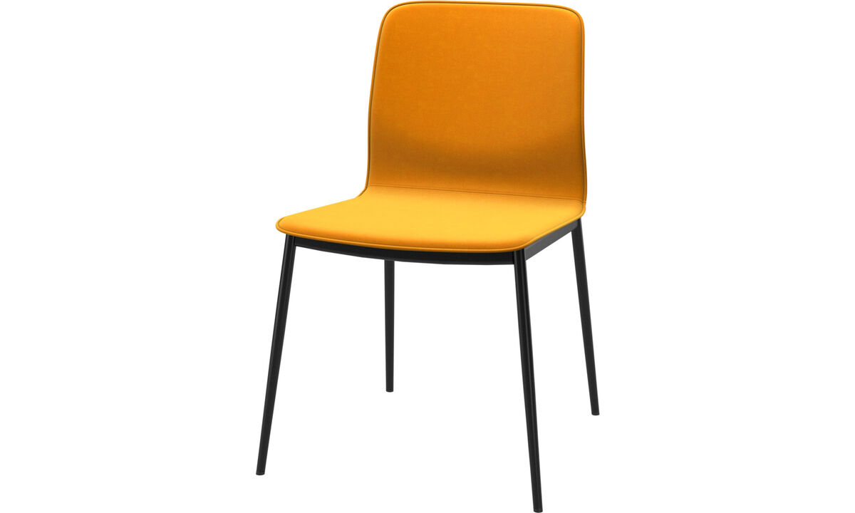 Dining chairs - Newport dining chair - Orange - Fabric