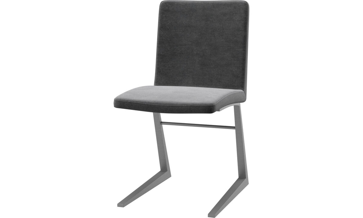 Dining chairs - Mariposa Deluxe chair - Grey - Fabric