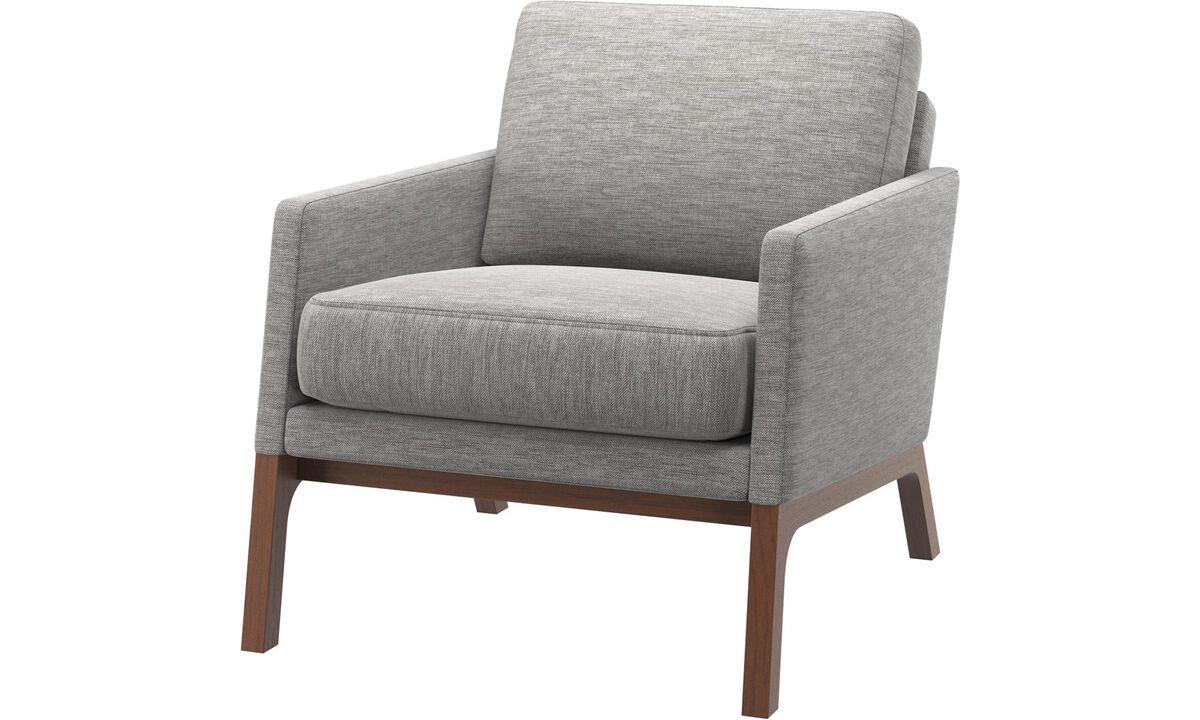 Fauteuils - fauteuil Monte - Gris - Tissu