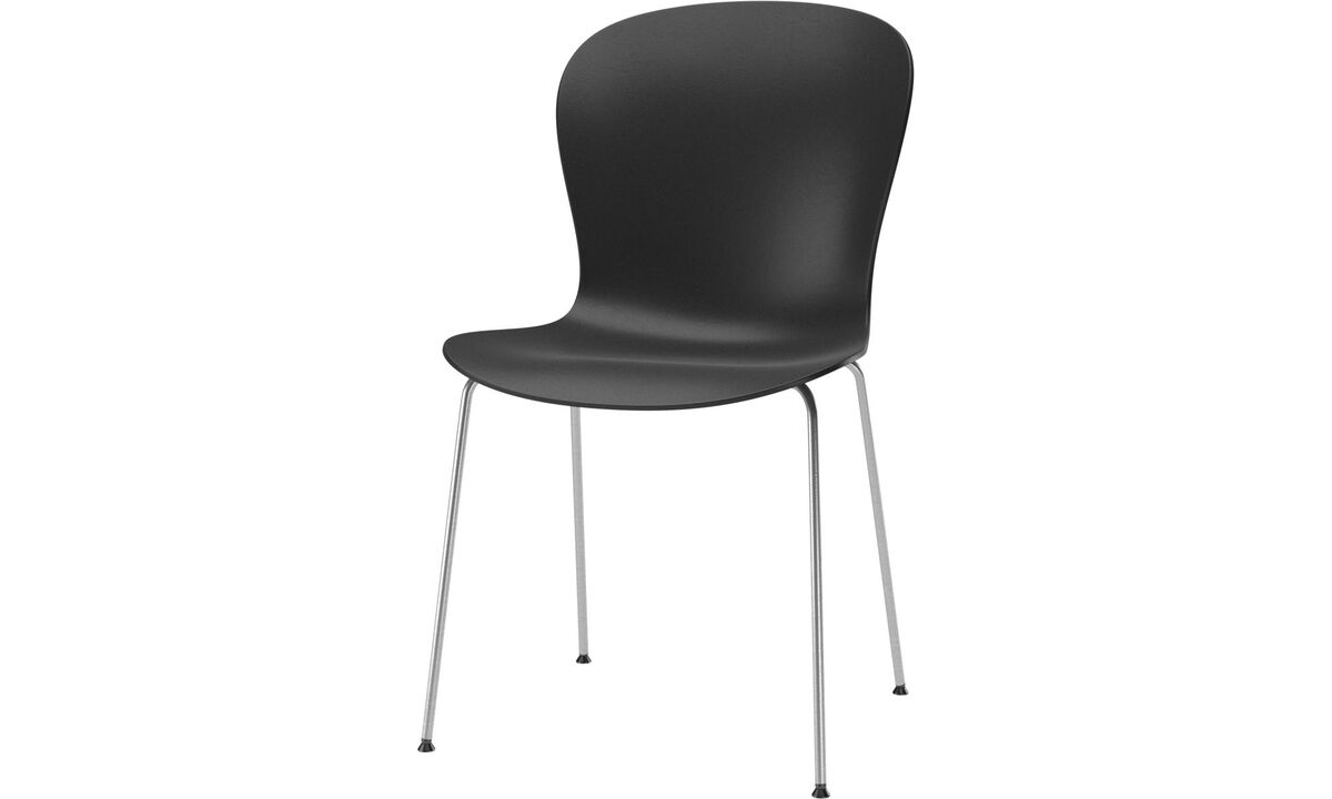 New designs - Adelaide chair (for in and outdoor use) - Black - Metal