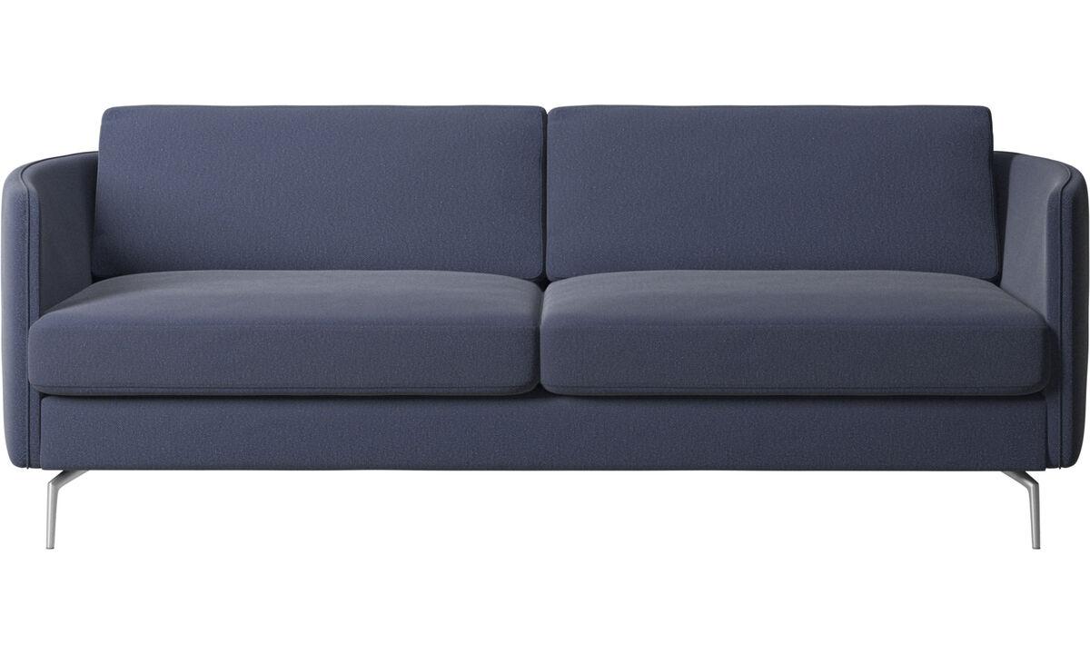 Uutta muotoilua - Osaka-sohva, tavallinen istuin - Sininen - Kangas