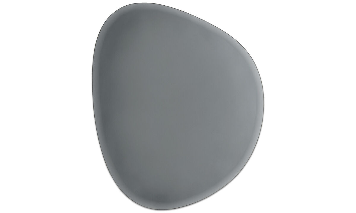 Mirrors - Turn mirror, set of 3 pcs. - Grey - Glass