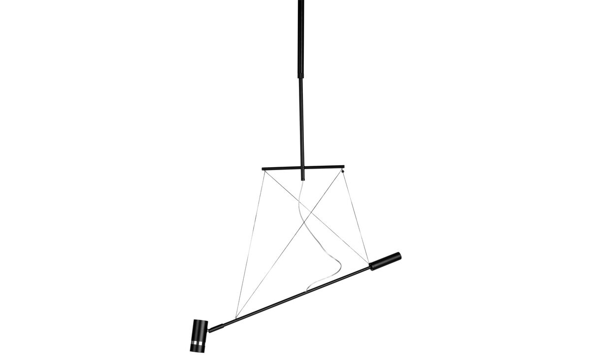 Lamps - Balance LED ceiling light - Black - Metal