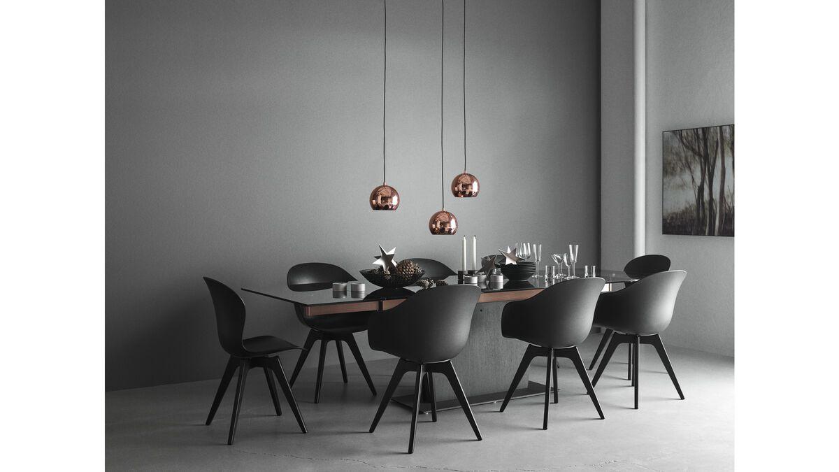 esstische monza tisch mit zusatztischplatten boconcept. Black Bedroom Furniture Sets. Home Design Ideas