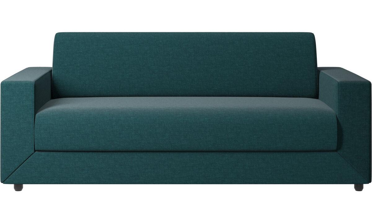 Sofa beds - Stockholm divano letto - Blu - Tessuto