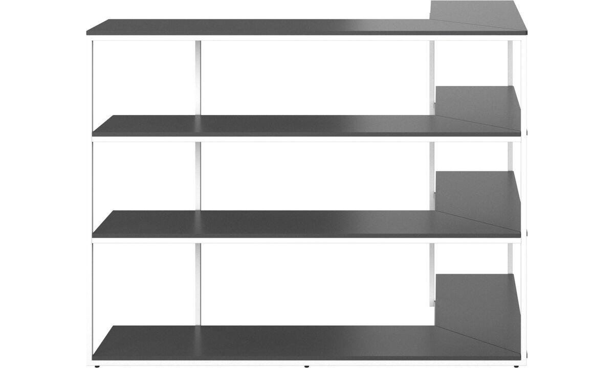 rangement rangements et combinaisons murales personnalis s boconcept. Black Bedroom Furniture Sets. Home Design Ideas