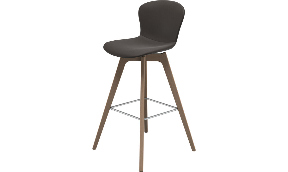 Bar stools - Adelaide barstool - Brown - Leather