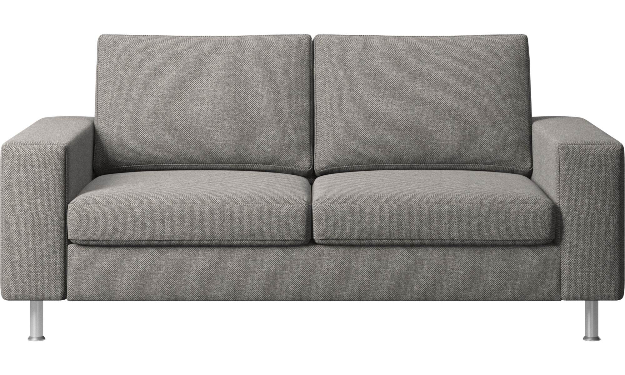 Entzuckend 2 Sitzer Sofas   Indivi Sofa   Grau   Stoff ...