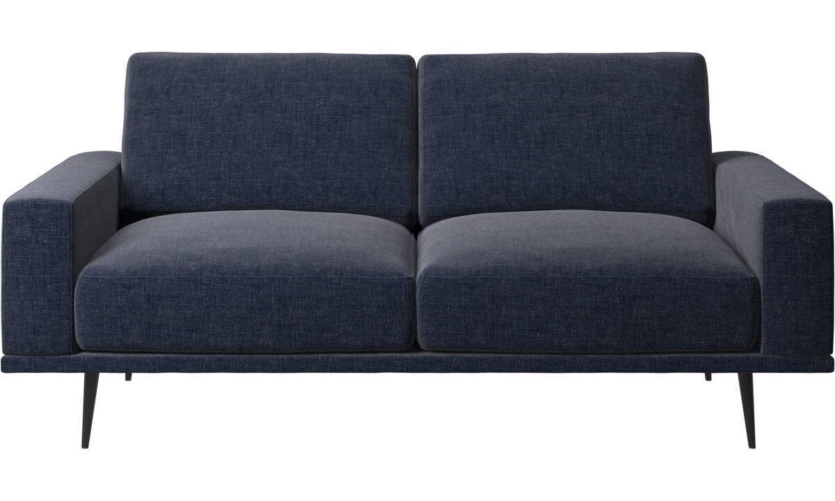2 seater sofas - Carlton sofa - Blue - Fabric