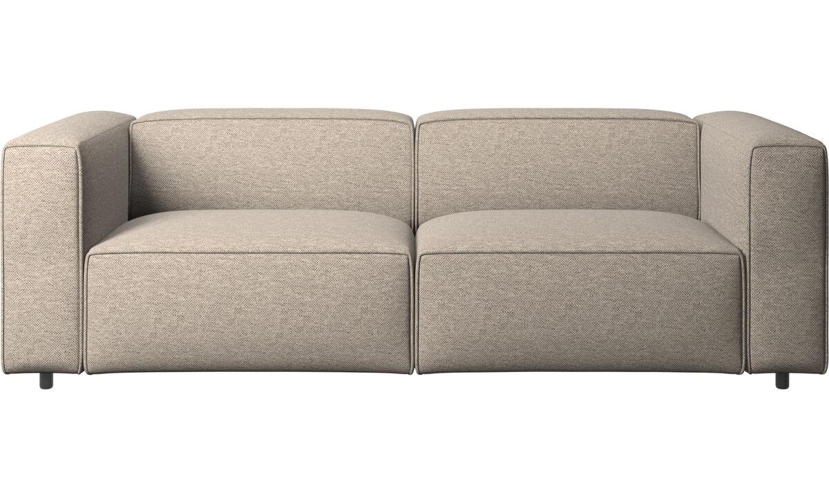 2½ personers sofaer - Carmo sofa - Beige - Stof