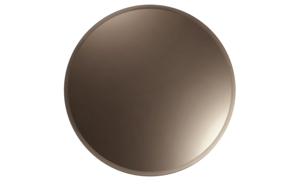 Mirrors - Tone mirror - Brown - Glass