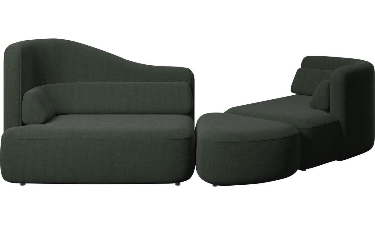 Modular sofas - Ottawa sofa - Green - Fabric
