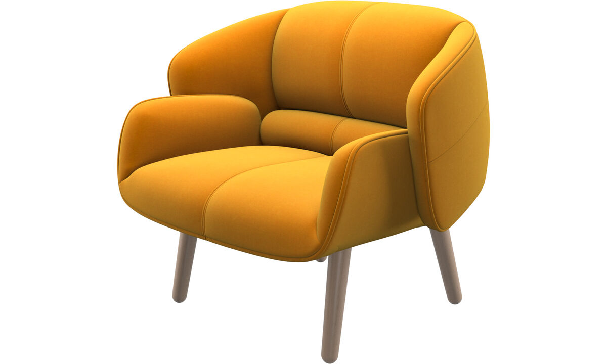 Armchairs - fusion chair - Orange - Fabric