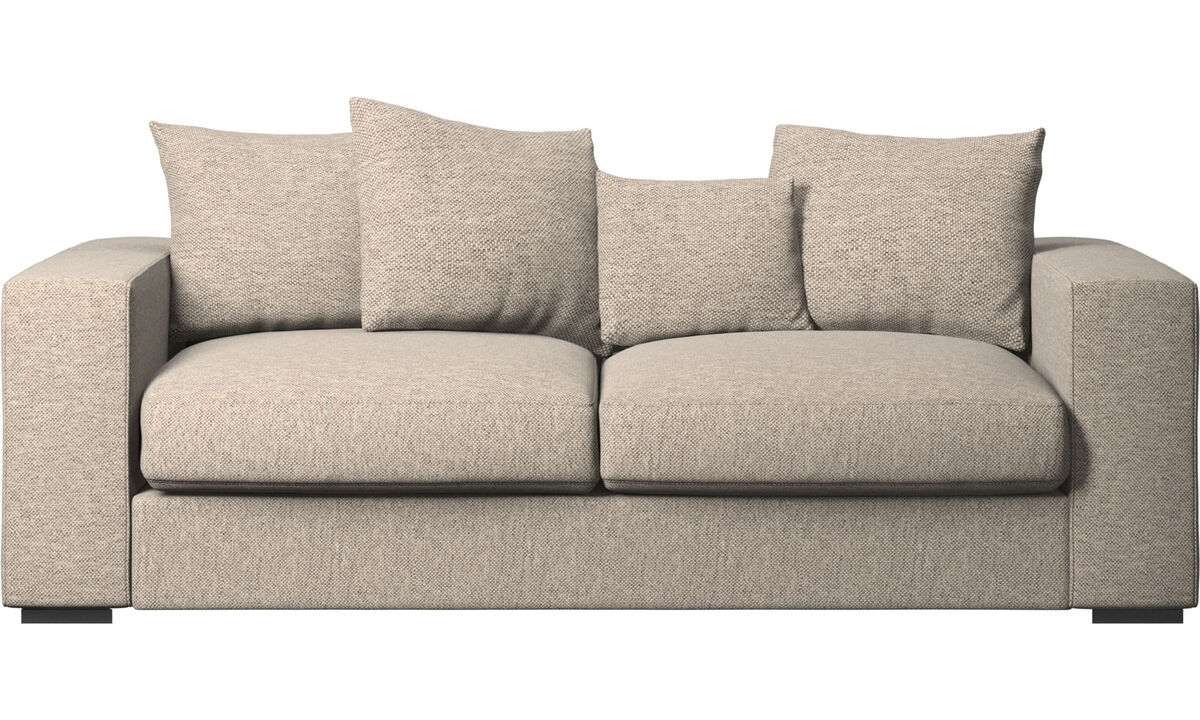 2.5 seater sofas - Cenova sofa - Beige - Fabric
