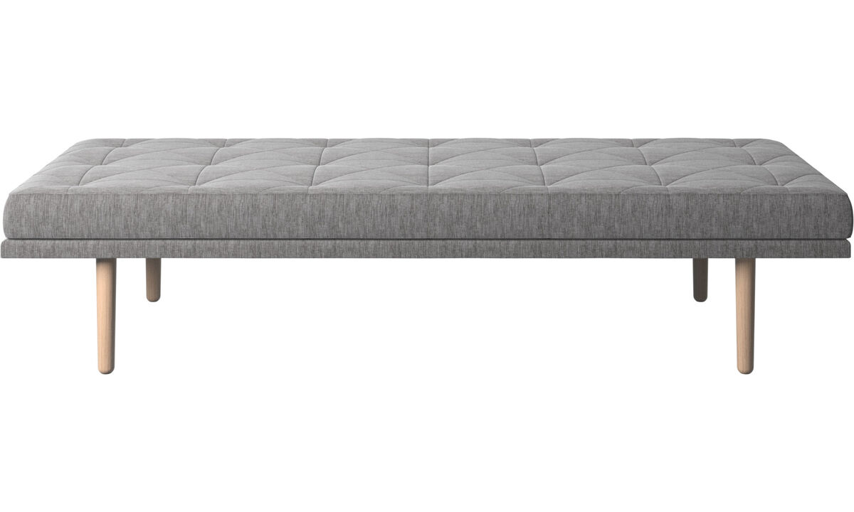 Daybeds - fusion day bed - Grå - Stof