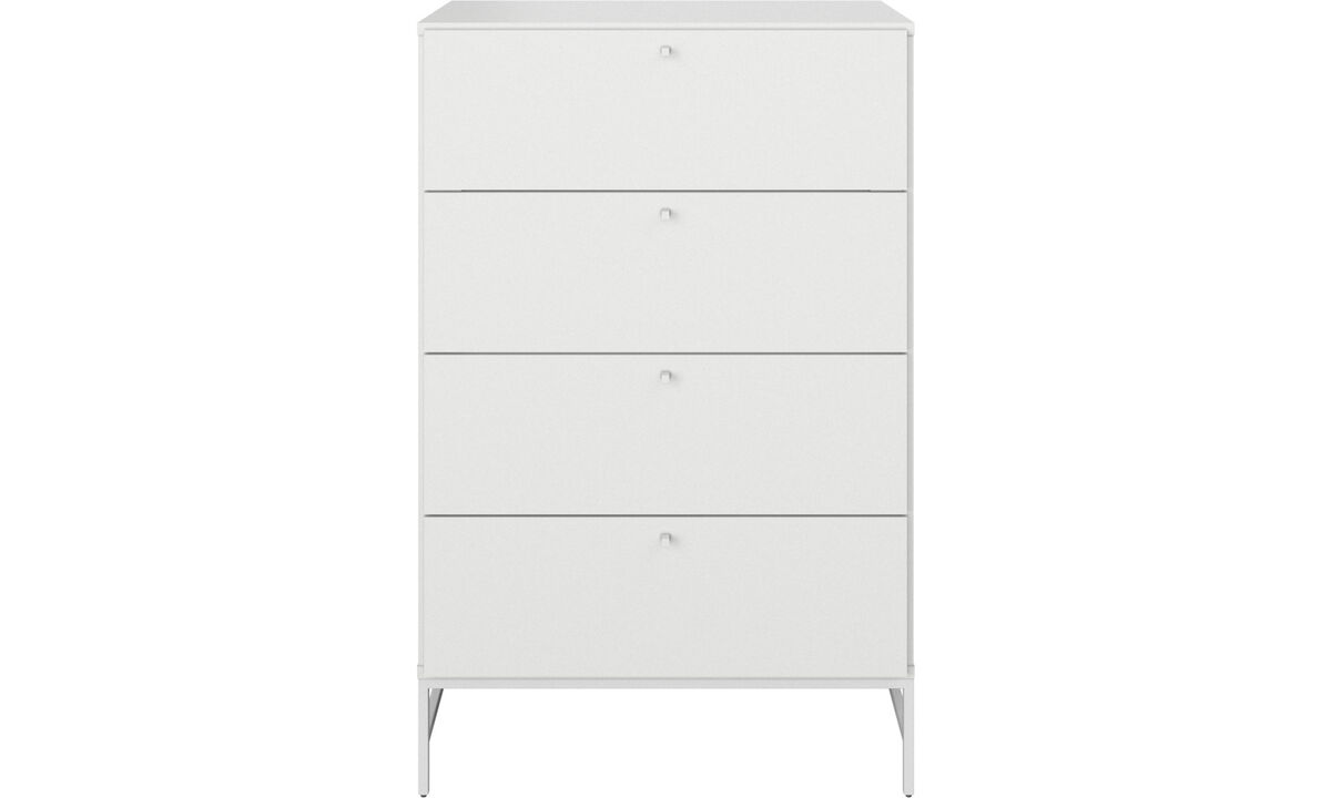 Chests of drawers - Bordeaux chest - White - Lacquered