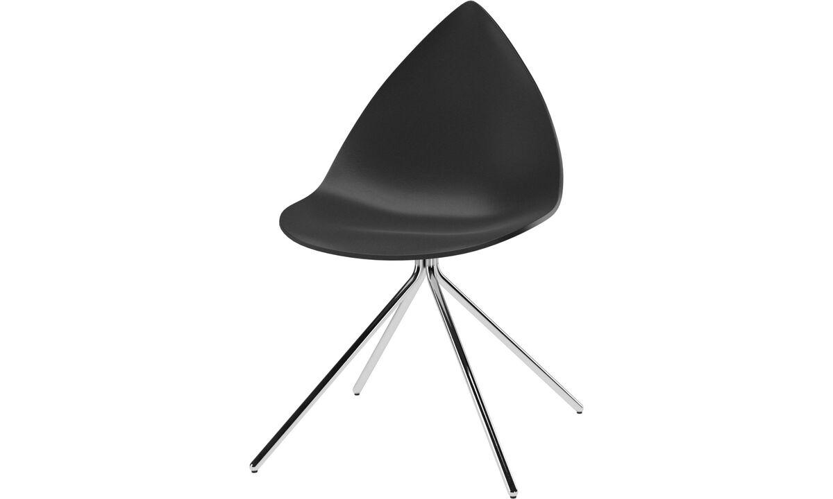 Dining chairs - Ottawa chair - Black - Metal