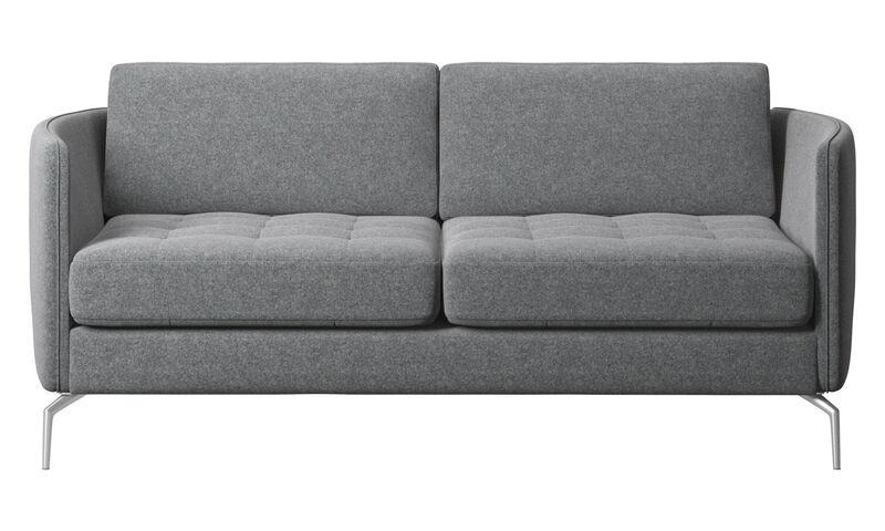 2 seater sofas - Osaka sofa, tufted seat - BoConcept