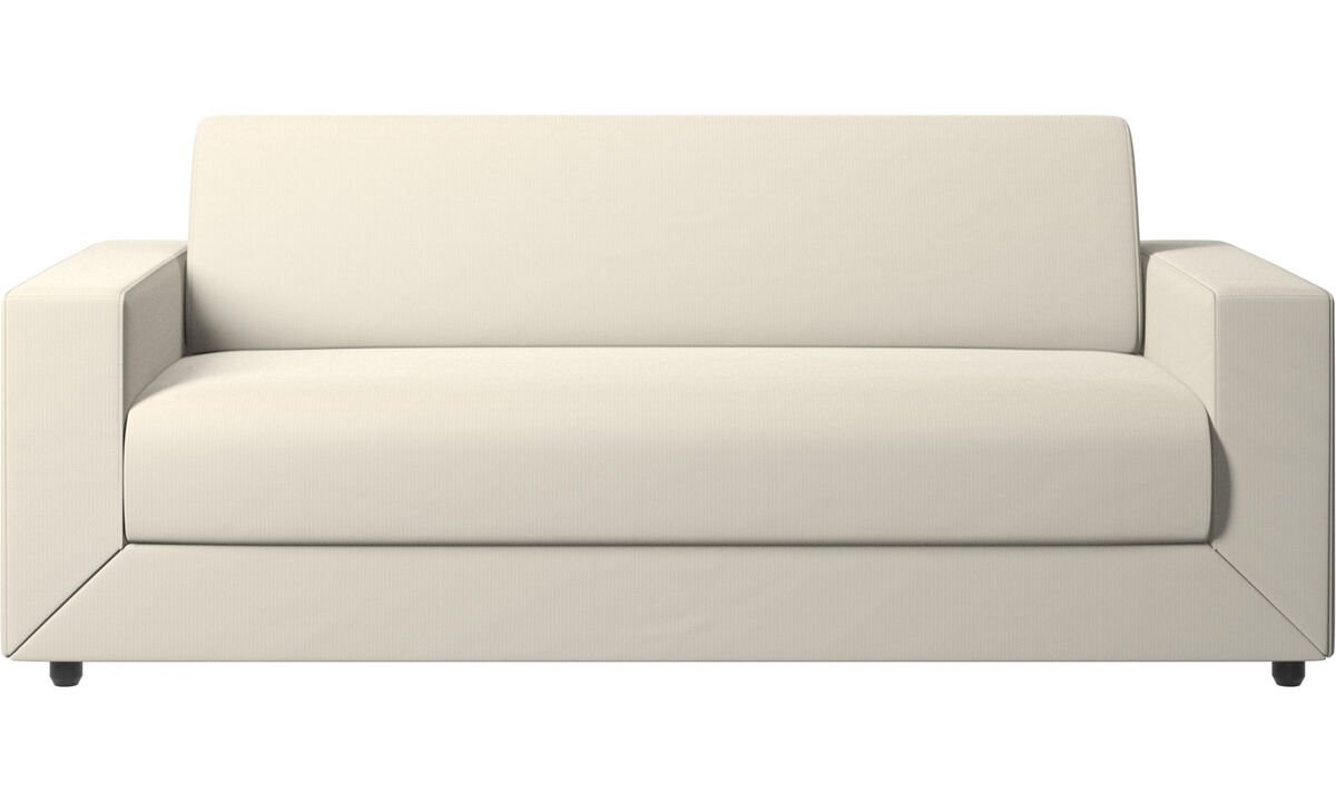 New designs - Stockholm sofa bed - White - Fabric