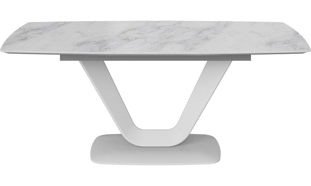 Esstische - Alicante Tisch - rechteckig - Weiß - Keramik