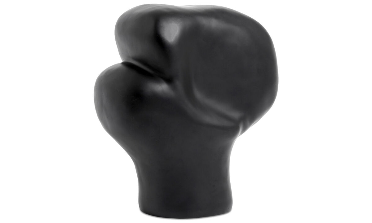 Decoration - Unreal sculpture - Black - Plastic