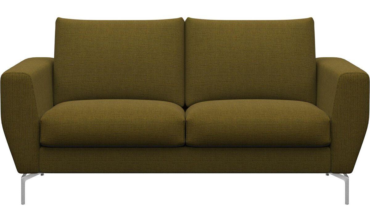 2-istuttavat sohvat - Nice-sohva - Keltainen - Kangas