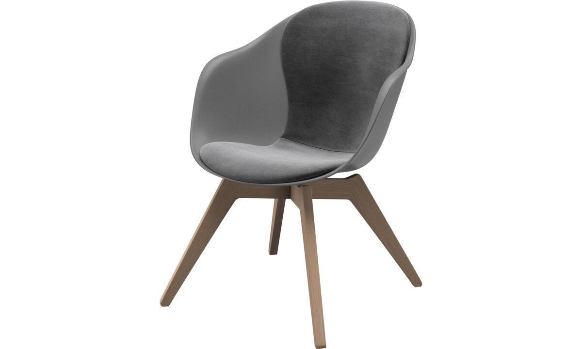 Armchairs - Adelaide lounge chair - Grey - Fabric