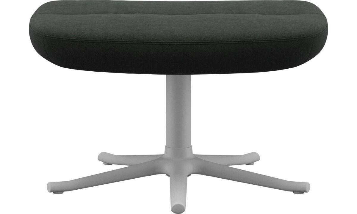 Footstools - Trento footstool - Green - Fabric