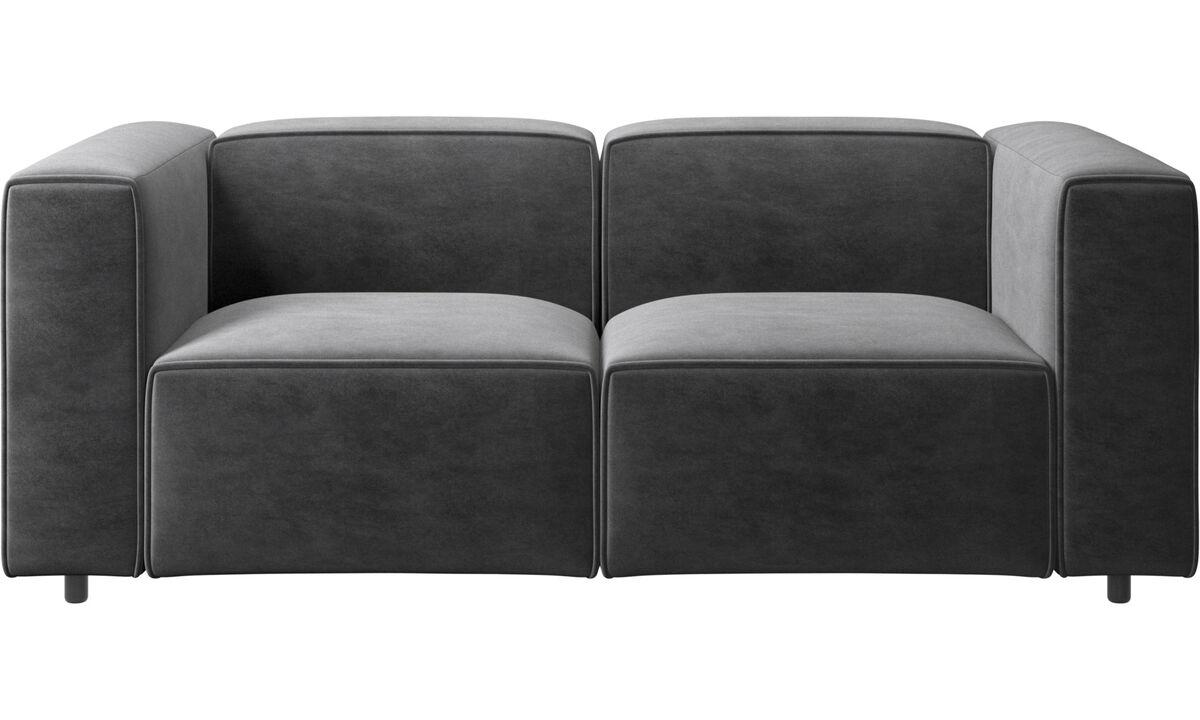 New designs - Carmo sofa - Gray - Fabric