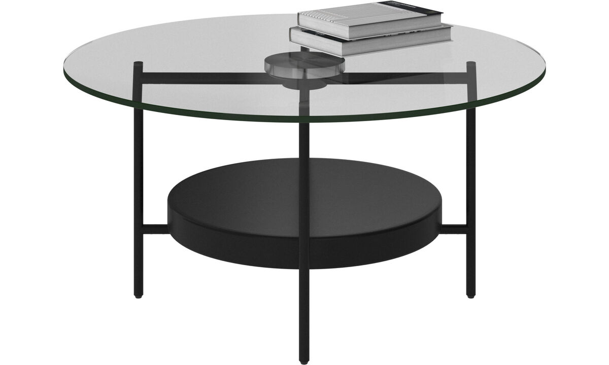 Coffee tables - Madrid coffee table - round - Clear - Glass