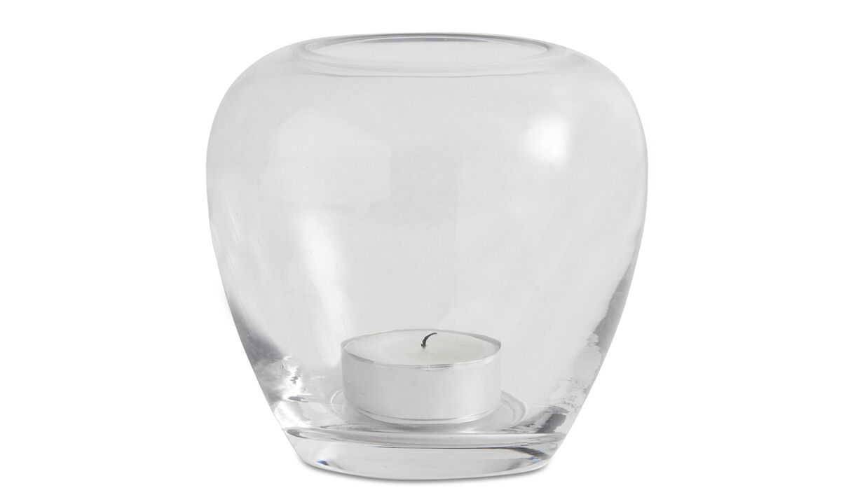 Candle holders - Delicate lantern - Clear - Glass