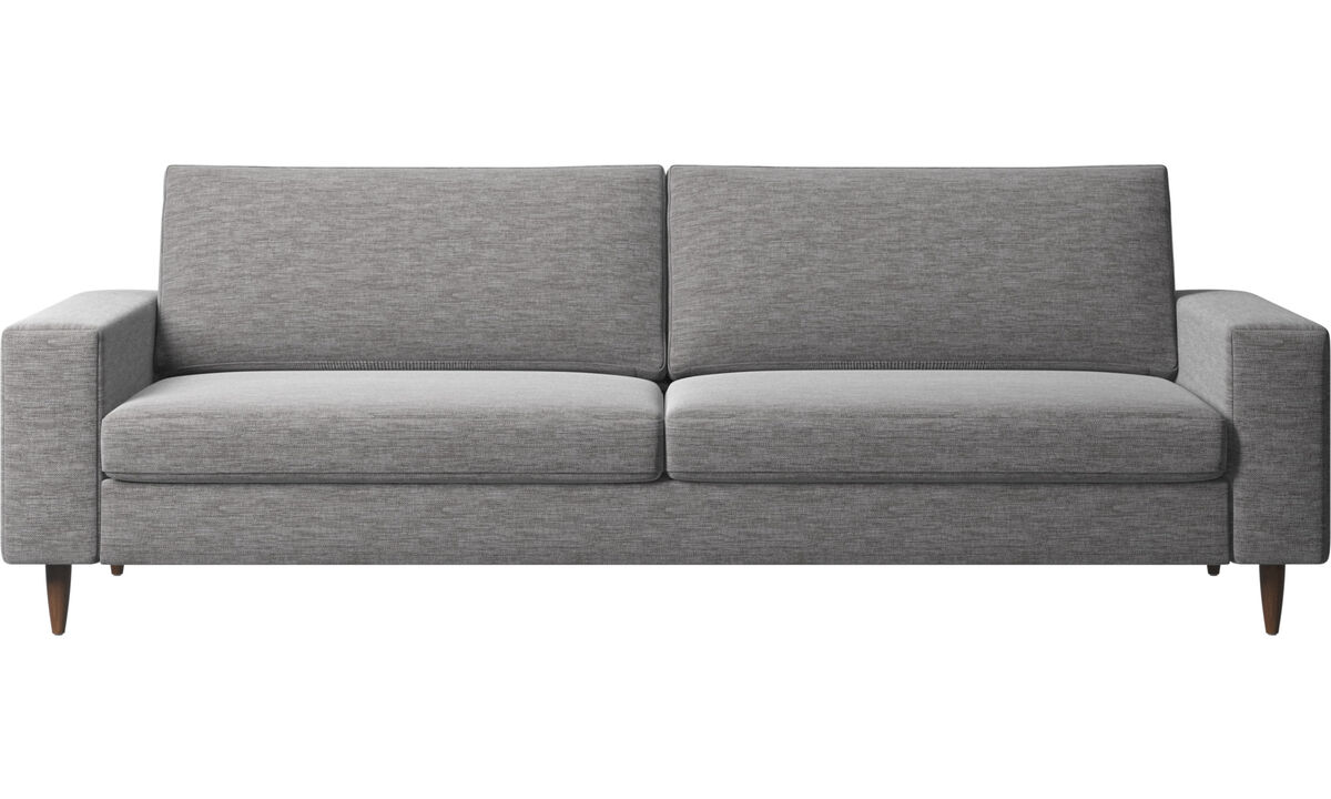 3 seater sofas - Indivi sofa - Grey - Fabric