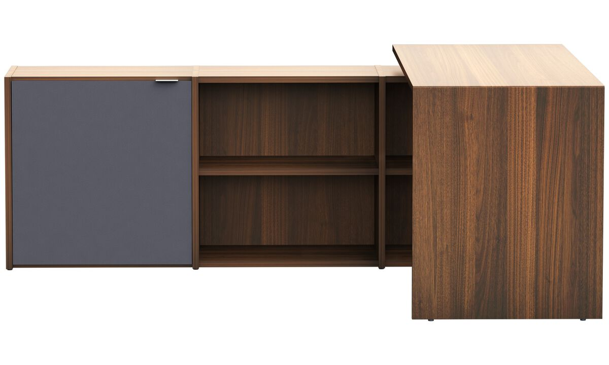Office storage - Copenhagen office system - Marrone - Noce