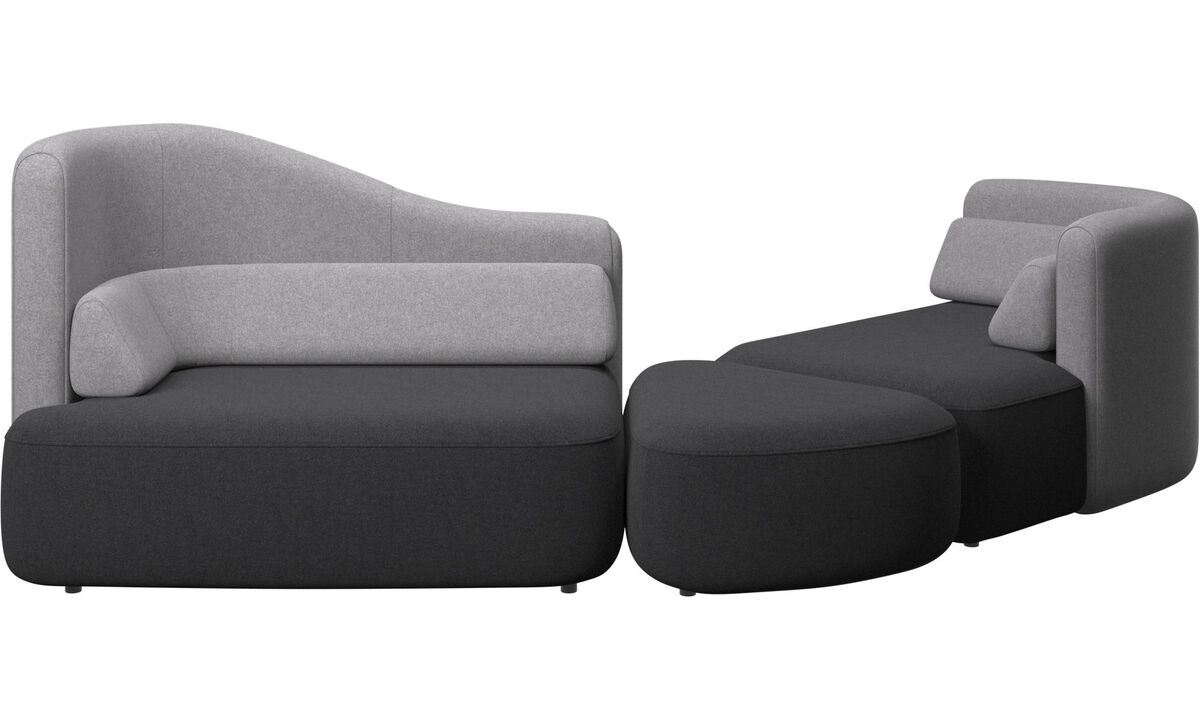 Nye designs - Ottawa sofa - Grå - Tekstil
