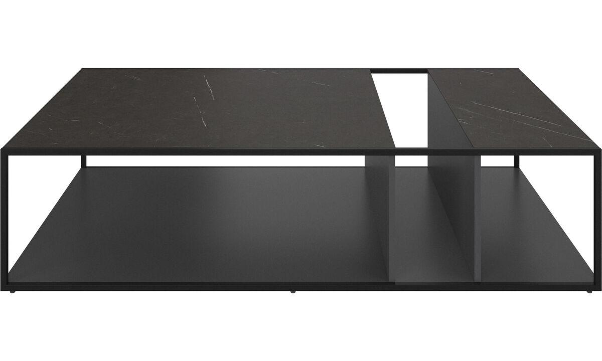 Журнальные столики - Журнальный столик Philadelphia - прямоугольный - Черного цвета - Керамика