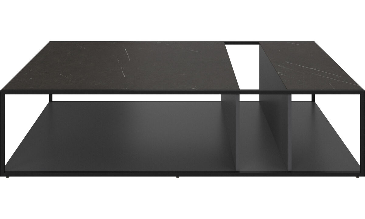 Coffee tables - Philadelphia coffee table - rectangular - Black