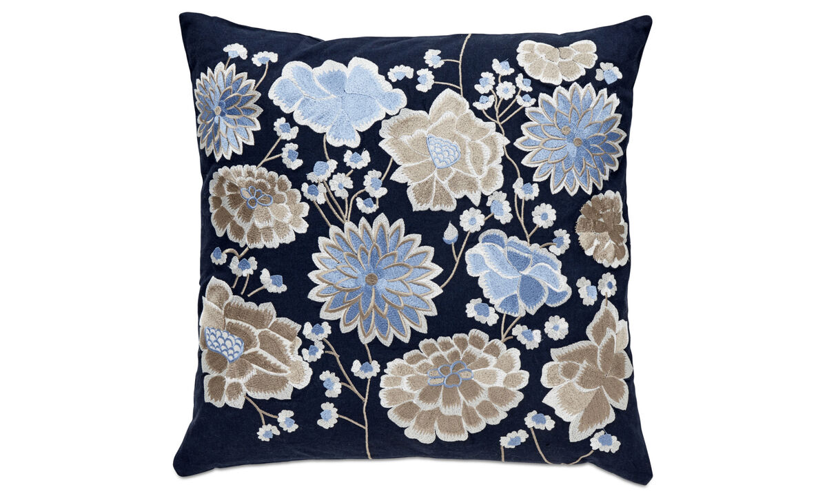 Patterned cushions - Concela cuscino - Blu - Tessuto