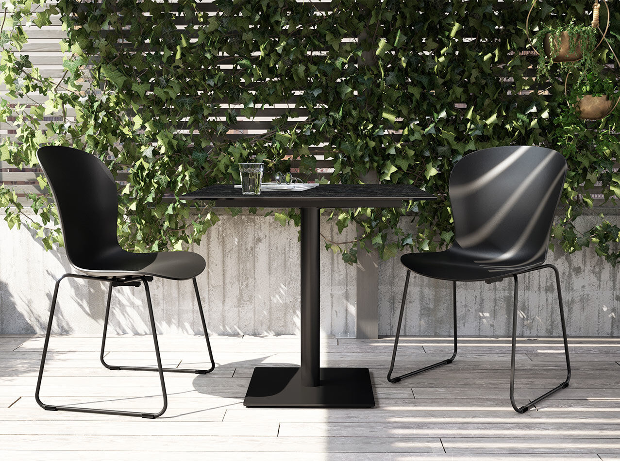 Outdoor dining furniture - Adelaide chair (for in and outdoor use)