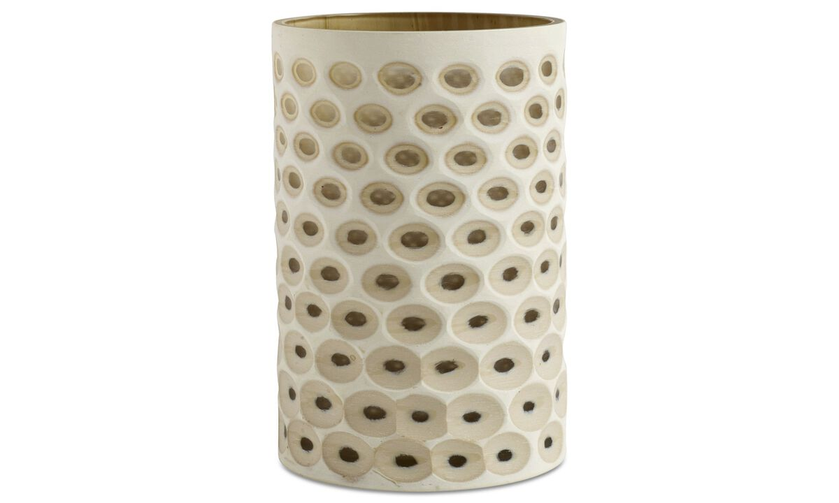 New designs - Dream vase - Beige - Cristallo