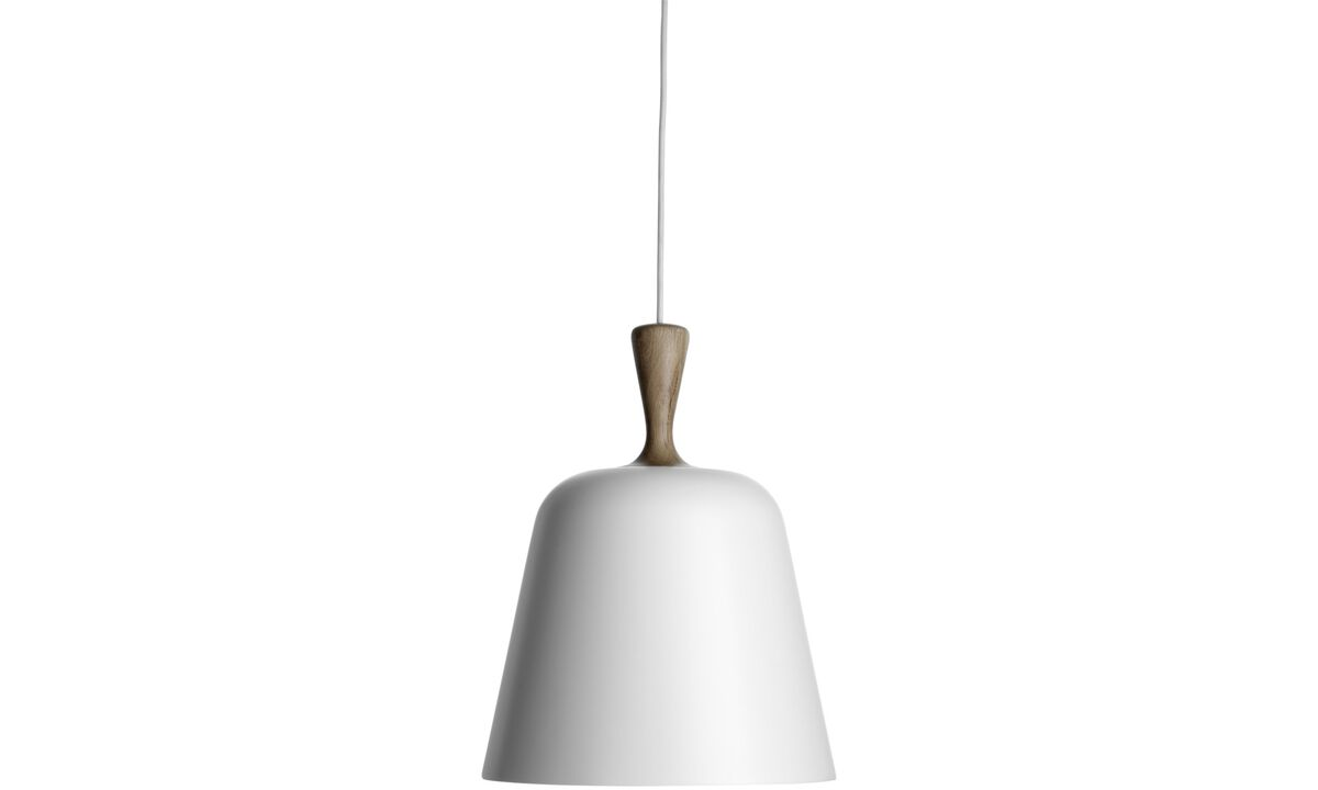 Luminaires - Suspension Handle Me - Blanc - Métal