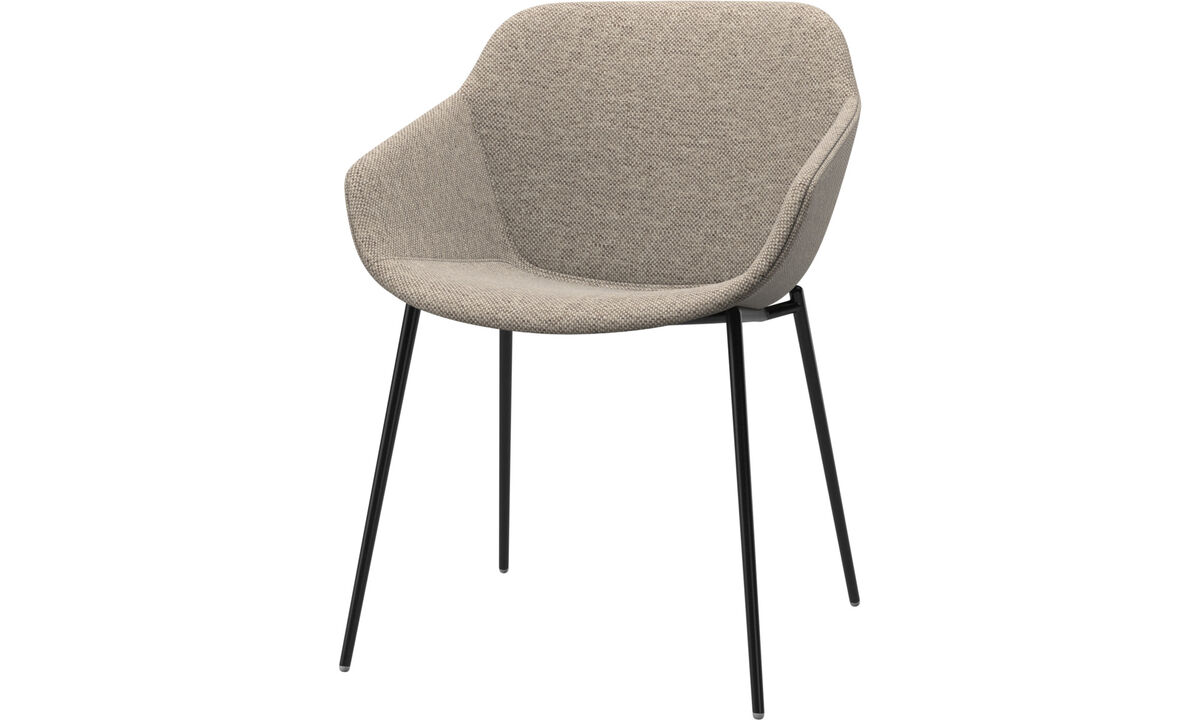 Dining Chairs Singapore - Vienna chair - Beige - Fabric
